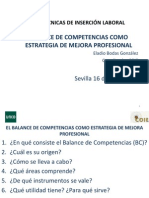 Curso Tecnicas Insercion Balance Competencias Eladio Bodas