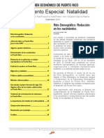 Resumen Economico - Septiembre 2013 - Suplemento Especial - Nacimientos 2013