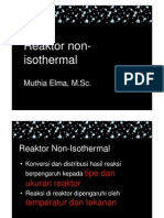 Reaktor Non Isothermal