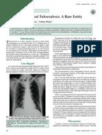 Isolated Mediastnal Tuberculosis