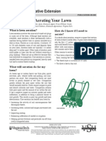 Aerating Your Lawn