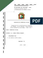 Propuesta de Promocion Provincia San Roman