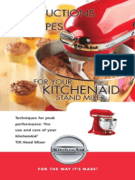 KitchenAid Artisan Mixer - Use and Care Guide