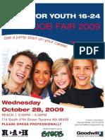 Fall Job Fair Flyer