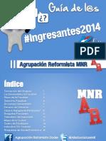 Guía de l@s Ingresantes 2014