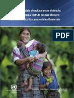 OPS- portadilla Informe de análisis situacional sobre derecho