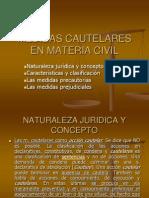 Medidas Cautelares en Materia Civil
