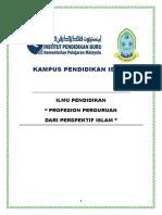 profesionperguruandariperspektifislam-121205102124-phpapp01