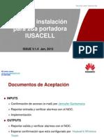 Guia de instalación 2da portadora V1.4