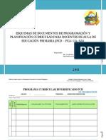 Esquemas PCD PCA UA SA Primaria 2012