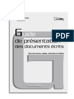 guide de redaction Éditions du CRP