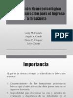 Corrección Neuropsicológica como Preparación para el Ingreso FINALa