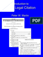 Basic Legal Citation 1