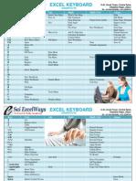 Excel Shortcutss