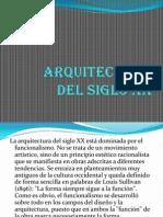 Arquitectura Siglo XX y XXI. Equipo 6