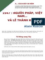Người Pháp và Việt Nam, Lê Thành Khôi