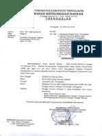 Hasil Seleksi Penerimaan CPNS dari Jalur Tenaga Honorer Kategori II Kabupaten Trenggalek