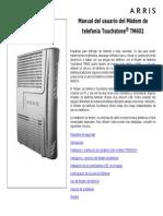 Tm602 User Guide Es