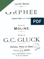 Christoph Willibald Gluck, Orphée et Eurydice