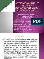 El Silabo Doctorado 2014