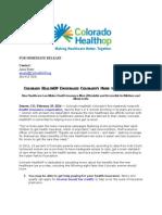Colorado HealthOP Encourages Colorado's Moms to Get Covered