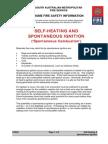 Selfheating and Spontaneous Ignition Spontaneous Combustion
