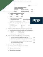 Examen Escrito de Historia Geografia y Economia