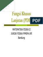 Fungsi Khusus Lanjutan (PDB) [Compatibility Mode]
