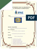 Investigacion de Mercados Inca Kola