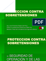 Proteccion Contra Sobretensiones