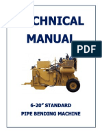 Pipe Bending Machine Manual Small