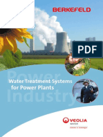 Water Treatment for Power Plants