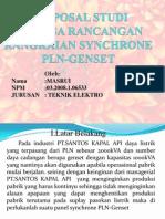Proposal Studi Analisa Rancangan Rangkaian Synchrone Pln-genset