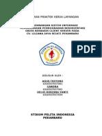 pengembangan sistem informasi berbasis client server - PKL