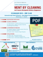 Management by Cleaning