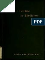 Occult Science in Medicine - Hartmann, 1893