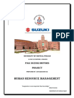 HRM Project (Pak Suzuki Motors)