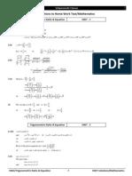 Jee 2014 Booklet1 Hwt Solutions Trigo Ratio & Equation