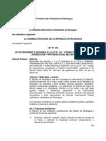 Ley No. 855 Ley de Reforma a La Ley No. 181 Codigo Militar