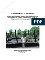 Fire of Hatred in Taindong