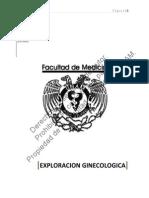 exploracion ginecologa