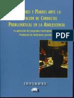 Prevencion de Condutas de Adiccion en Adolescentes. Libro. Investig.