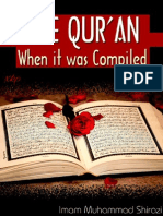 THE QUR'AN When it was Compiled