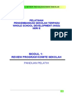 1. Review Program Komite Sekolah