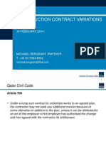 Construction Contract Variations .Pptx