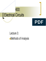 Circuit Analysis Lecture3