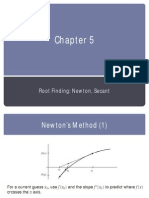Chapter 5 - Root Finding Newton, Secant