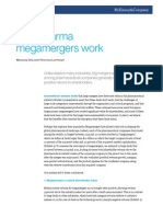 McKinsey - Why Pharma Megamergers Work