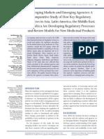 Drug Regulation in Several Countries