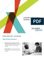 Guide to Patient Education